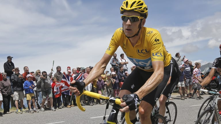 Pot, kettle: Bradley Wiggins' outspoken anti-doping stance has been called into question.