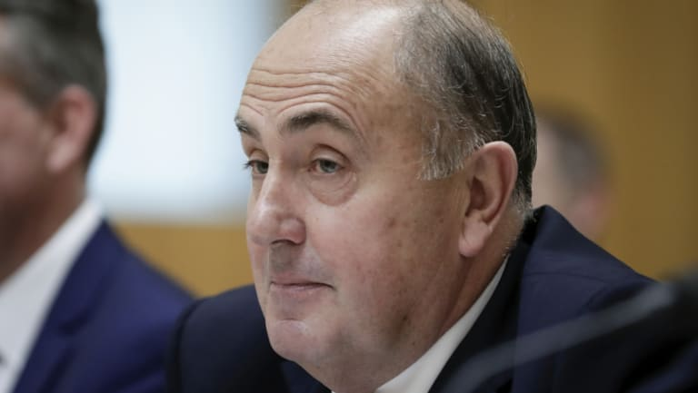 Treasury secretary John Fraser (pictured) has a close relationship with Tax Commissioner Chris Jordan.