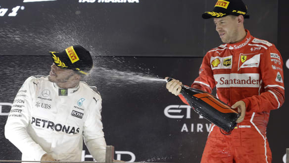Formula One finally has it's prize fight, ten years in the making
