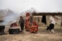 A Kyrgyz family in the Wakhan Corridor, a narrow strip of land that connects Afghanistan to China.