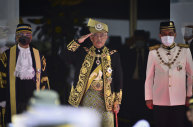 Malaysia's King Sultan Abdullah Sultan Ahmad Shah took the government to task, saying parliament had been misled.
