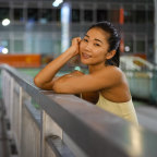 Personal trainer Kayoko Ramel is still looking forward to the Games.
