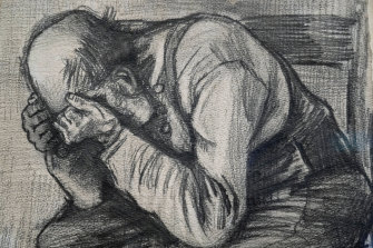 Vincent van Gogh was living in The Hague when he did the drawing.