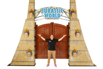 Jurassic World by Brickman