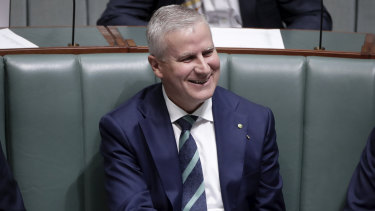 Michael McCormack is shaping up to be the firm favourite to replace Barnaby Joyce.