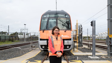 Premier Gladys Berejiklian is hoping the new Waratah trains will mean decades-old S-Set trains can finally be retired.