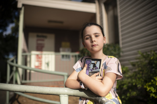 Most public libraries reopened in June, but seven-year-old Sophie's local library in Oatley is still closed.