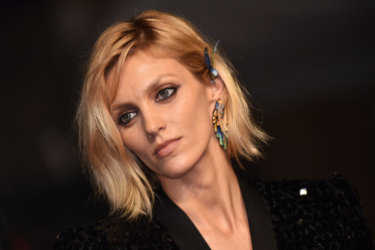 """Anja Rubik attends the screening of """"Lux Aeterna"""" during the 72nd annual Cannes Film Festival on May 18, 2019 in Cannes, France. Photo by Lionel Hahn/ABACAPRESS.COM. Ear cuffs"""