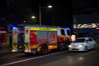 Emergency services were called to Bondi Beach about 12.40am on Saturday morning.