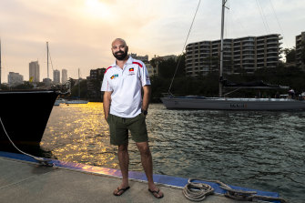 Danny Teece-Johnson is part of the first all Indigenous team that will compete in the 2019 Sydney to Hobart.