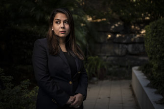 """""""I'm really fearful for what is to come"""": Sydney lawyer Mariam Veiszadeh."""