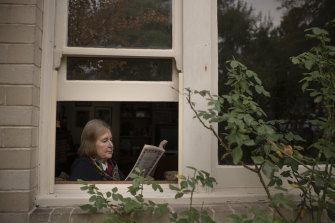 Lyn Longfoot lives alone and misses the social contact from the library.