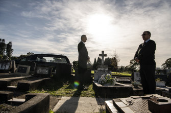 Undertakers at Rookwood.