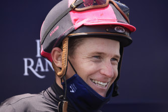 James McDonald is looking forward to riding odds-on favourite Anamoe in Saturday's Golden Rose.