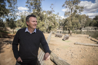 Steve Hinks, director of the Taronga Western Plains Zoo, said with the drought it's even more important that cityfolks make their holiday treks inland.