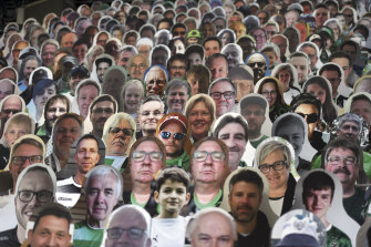 The NRL will follow the lead of the German Bundesliga soccer league and use cardboard cut-outs of fans at games.