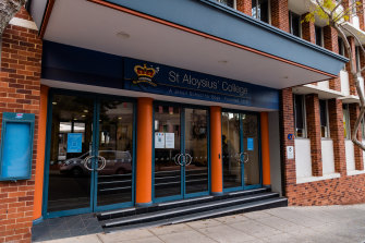 While renovations are in progress at Milsons Point, St Aloysius College needs to find space for students.