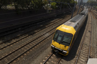 About $40 billion of rail assets including trains are owned by the government's Transport Asset Holding Entity.