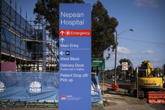 There have been COVID-19 exposures in Nepean Hospital.