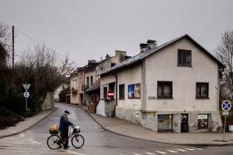 """The Polish town of Krasnik, which voted to the """"free of LGBT""""."""