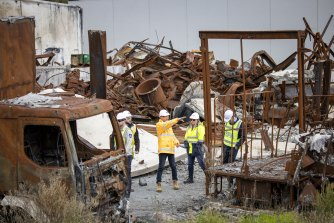 Former Bradbury chemical waste plant will cost taxpayers millions to clean up.