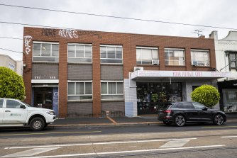 The Glen Huntly Road building in Elsternwick to be demolished for a new apartment tower.