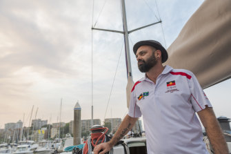 Danny Teece-Johnson will be joined by a crew of 11 professional and community sailors.