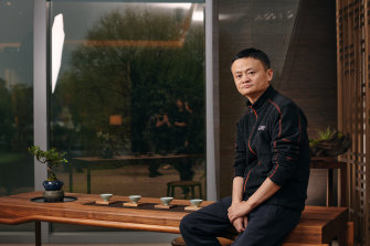 China's most famous billionaire, tech tycoon Jack Ma, in 2019.
