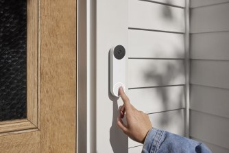 The Nest Doorbell (Battery) is rechargeable, or can also work on mains power.