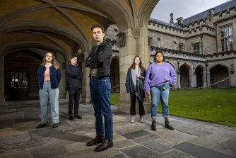 The Robert Menzies Institute will open in the historic Old Quad at Melbourne University - but the student union is pushing back.