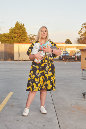 "Christina Melrose, who gave away toilet rolls in a carpark: ""This one spontaneous decision went on to have an impact on people I'm never likely to meet."""