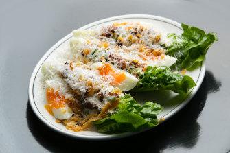 Caesar salad at Cumulus.