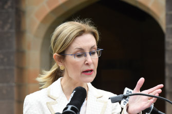 Environment minister Gabrielle Upton says the community supports the Return and Earn scheme.
