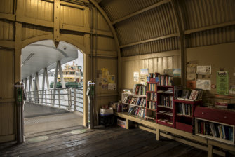 Thames Street Ferry Wharf with it's wonderful community library.