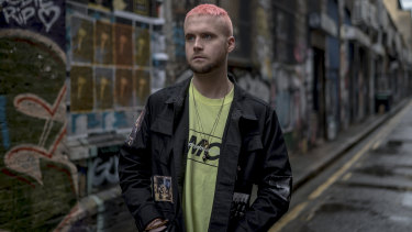 Christopher Wylie, who helped found the data firm Cambridge Analytica and worked there until 2014.