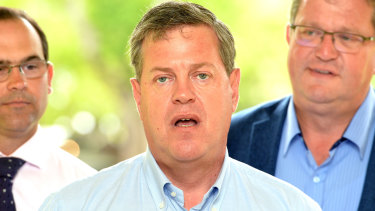 Tim Nicholls says it's too early to concede the election to Premier Annastacia Palaszczuk.