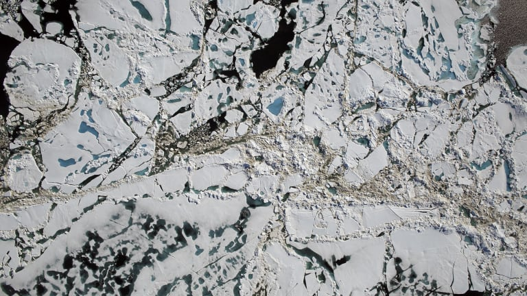 The Arctic Ocean has endured another warmer-than-average winter in a region that is warming much faster than the rest of the planet.