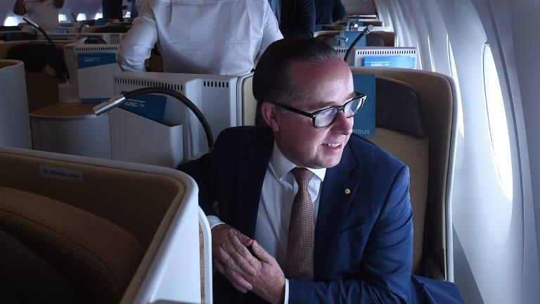 Qantas CEO Alan Joyce.
