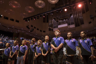 Members of the Cape York Aboriginal Australian Academy band (Hope Vale section) will be playing at the Sydney Opera House on 12 August at the Cantabile Music Festival.