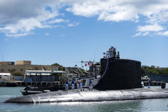 A US Virginia class fast-attack submarine. Australia decided to invest in US nuclear-powered submarines and dump its contract with France because of a changed strategic environment, Prime Minister Scott Morrison said last week.
