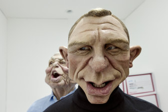 Characters from the recently relaunched Spitting Image.