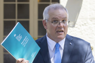 Prime Minister Scott Morrison said responding to the report would be a test for government.