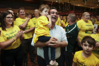 NSW Nationals leader John Barilaro retained his seat of Monaro but said his party's statewide result was a concern.