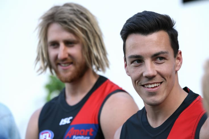 Essendon's new recruit Dylan Shiel.
