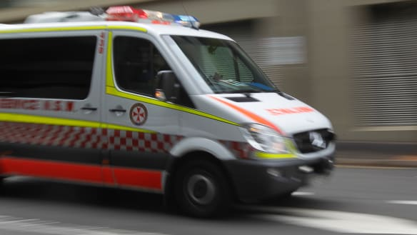 Man rushed to hospital with burns after car fire in Baulkham Hills