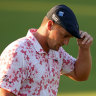 'Kind of dull and numb': DeChambeau ailing after barely making cut at the Masters