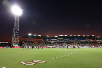 The Dreamtime game in Darwin was a sight to behold.