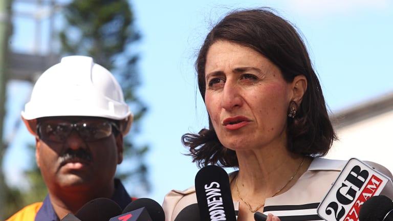 Major issue: Gladys Berejiklian is leading the way on revamped Sydney stadiums.