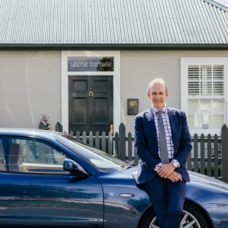 Hobart real estate agent Kim Morgan.