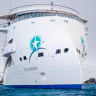 World's first, revolutionary 'X-bow' cruise ship sets sail